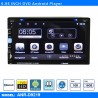DVD 6.95 INCH ANDROID TOUCH SCREEN CAR GPS RADIO STEREO PLAYER 1+16GB