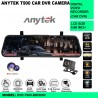 ANYTEK T900 FHD1080P 9.66 INCH DVR CAR CAMERA