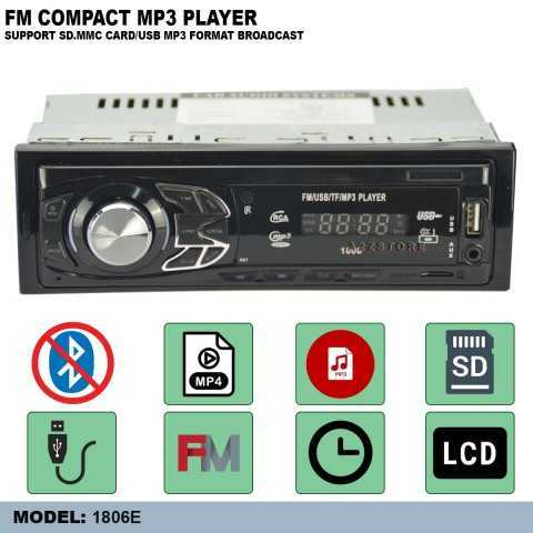 FM COMPACT MP3 PLAYER (WITHOUT BLUETOOTH)1806