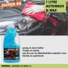 SUPER 99 NS AUTOWASH & WAX 1 LITRE