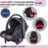 ECE R44/04 CERTIFIED NEW BORN BABY CARRIER CAR SEAT