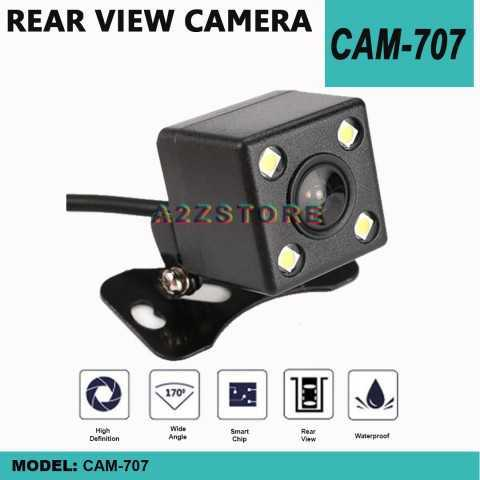 707 170° CAR REAR VIEW REVERSE WATERPROOF CAMERA