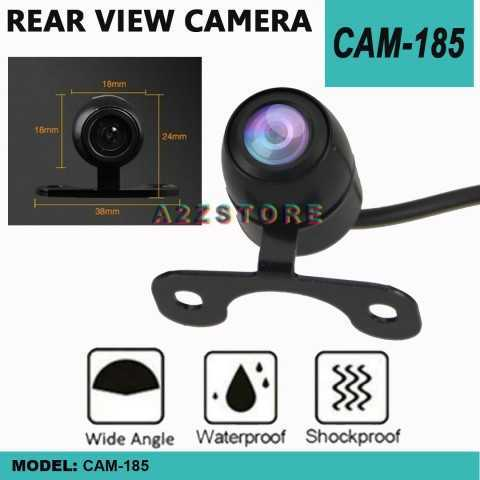 CAM-185 170° CAR REAR VIEW REVERSE WATERPROOF CAMERA