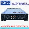 ADIVOX HIGH PERFORMANCE 4 CHANNEL CAR AMPLIFIER