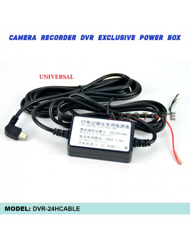 Driving Recorder Mini USB For Camera Recorder DVR Exclusive Power Supply Box 24h Parking Monitoring