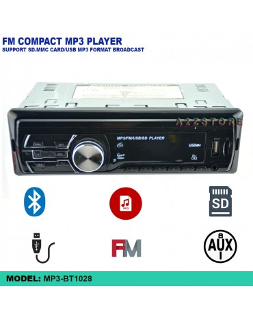 FM COMPACT MP3 PLAYER (WITH BLUETOOTH) 1806